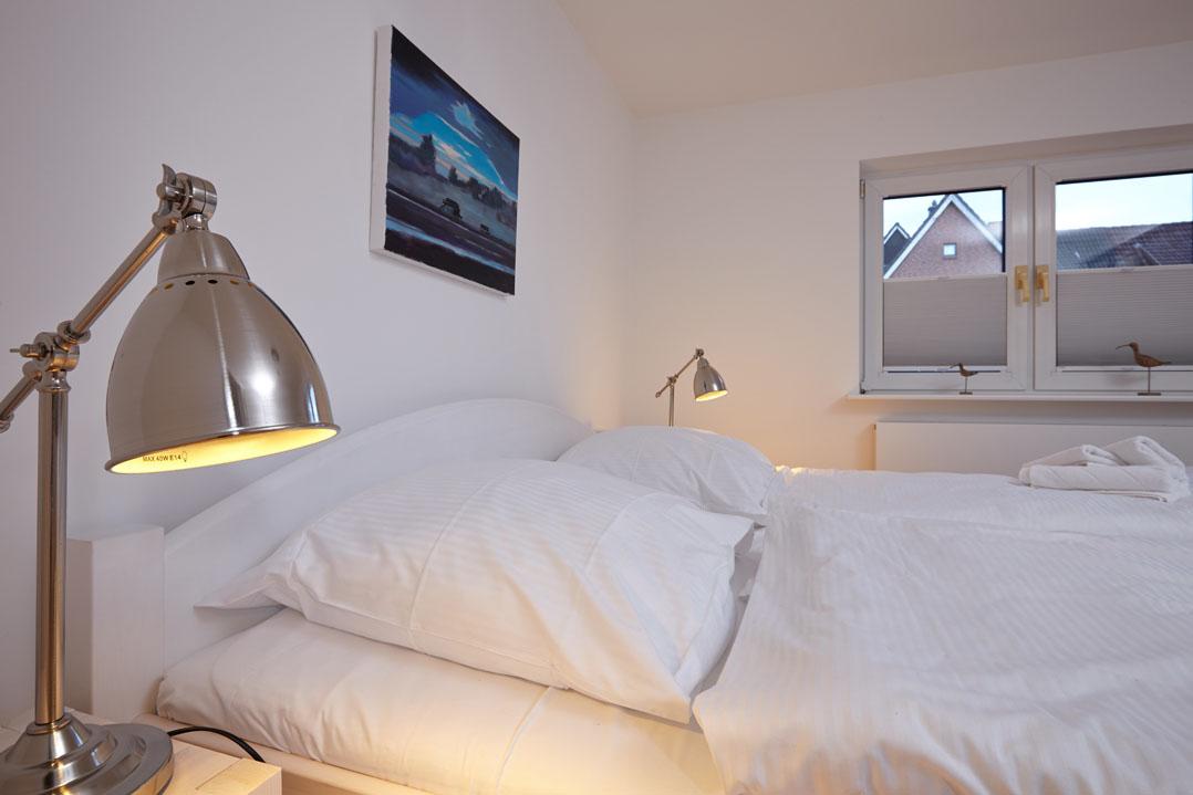 Ferienwohnung Weiße Düne, Schlafzimmer