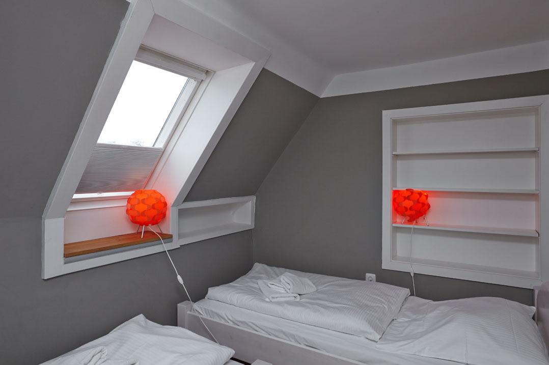 Hohe Düne, Schlafzimmer