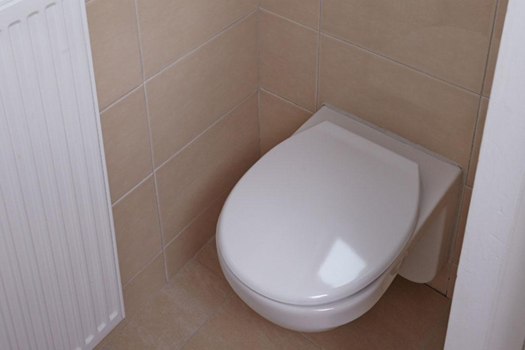 Hohe Düne, WC
